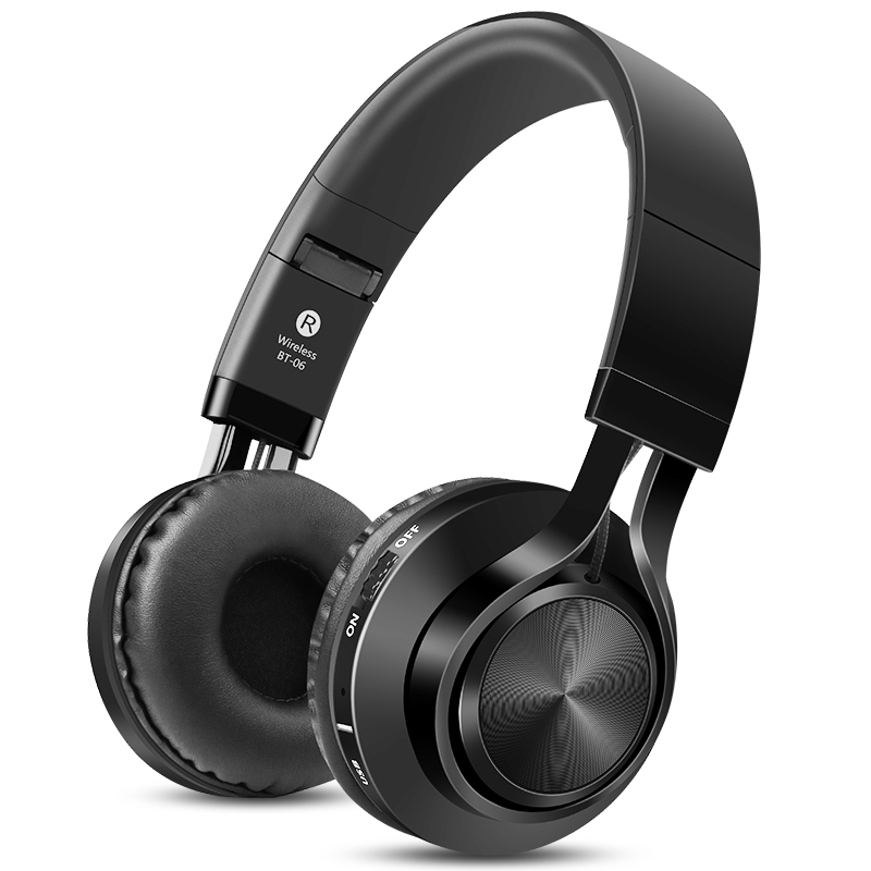 Sound Intone BT-06 Wireless Bluetooth Headphone With HD Mic. TF Card FM Radio Stereo Bass Headsets HIFI Auriculares for Xiaomi sc208 wireless speaker bluetooth 4 0 caixa de som stereo subwoofer speakers tf usb fm radio built in mic dual bass sound box
