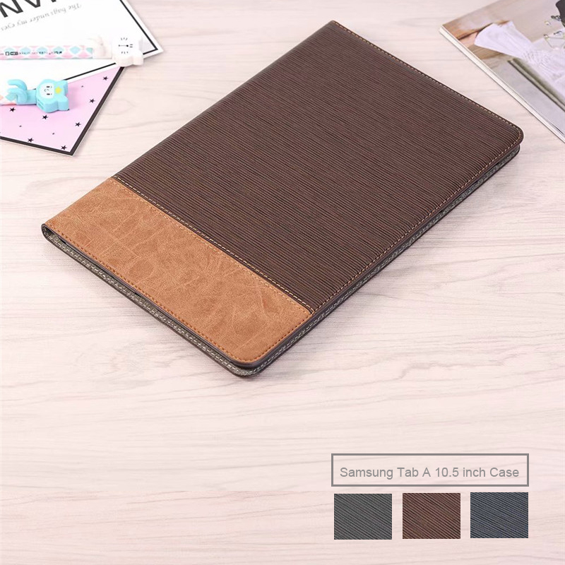 Business PU Leather Case For Samsung Galaxy TAB A2 10.5 Folio Smart Flip Cover For Samsung TAB A2 10.5 Inch T590 T595 2018