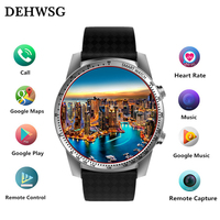 2018 new ZW99 Android 5.1 Smart Watch 3G MTK6580 8GB ROM Bluetooth SIM WIFI Phone GPS Heart Rate Monitor Wearable Devices