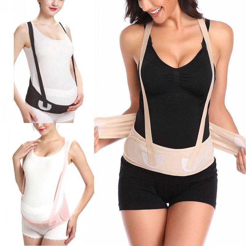 Breathable Maternity Belt Pregnancy Waist Women Stomach Lift Belt Prenatal Pregnancy With Shoulder Strap Protection