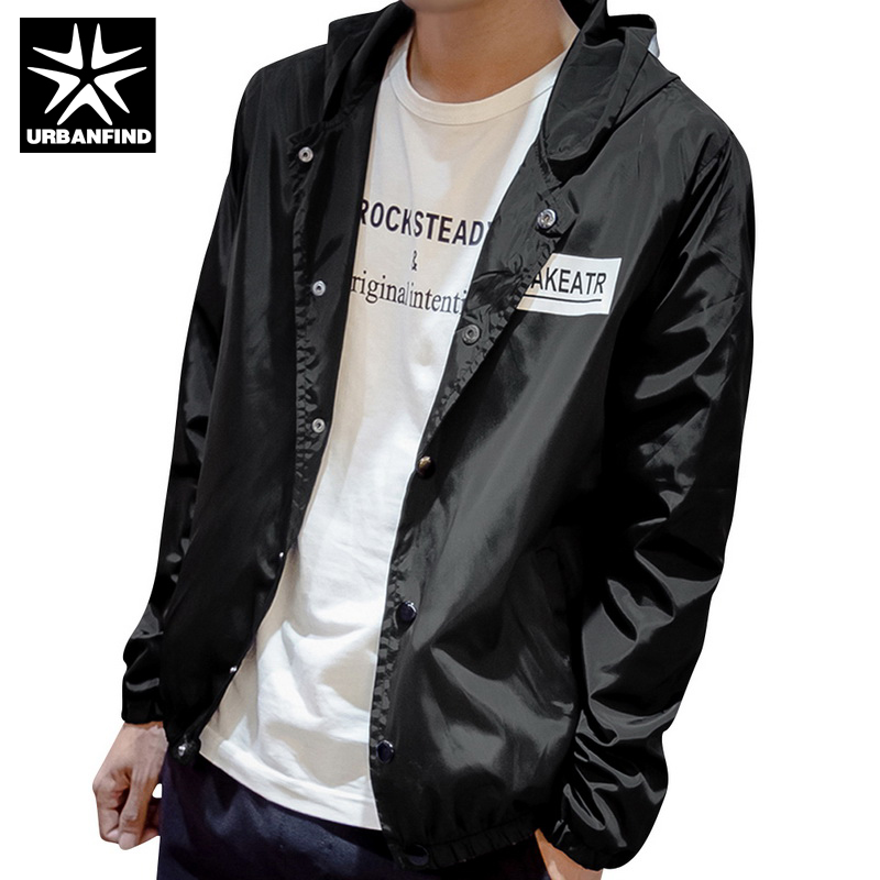 Youth Trend Men Thin Jackets Size M-3XL Hot Sale Men Hooded Coats Jaqueta Masculina 2017 Man Autumn Jackets