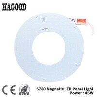 180 265V 45W SMD 5730 Led Ceiling Panel Light/Led Circular Ceiling Lighting Lamp Board Chandelier Modern Pendant Ceiling Lamps