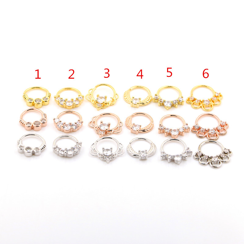 USA Seller Nose Stud w Ball End Sterling Silver Piercing 20 pcs Assorted Color