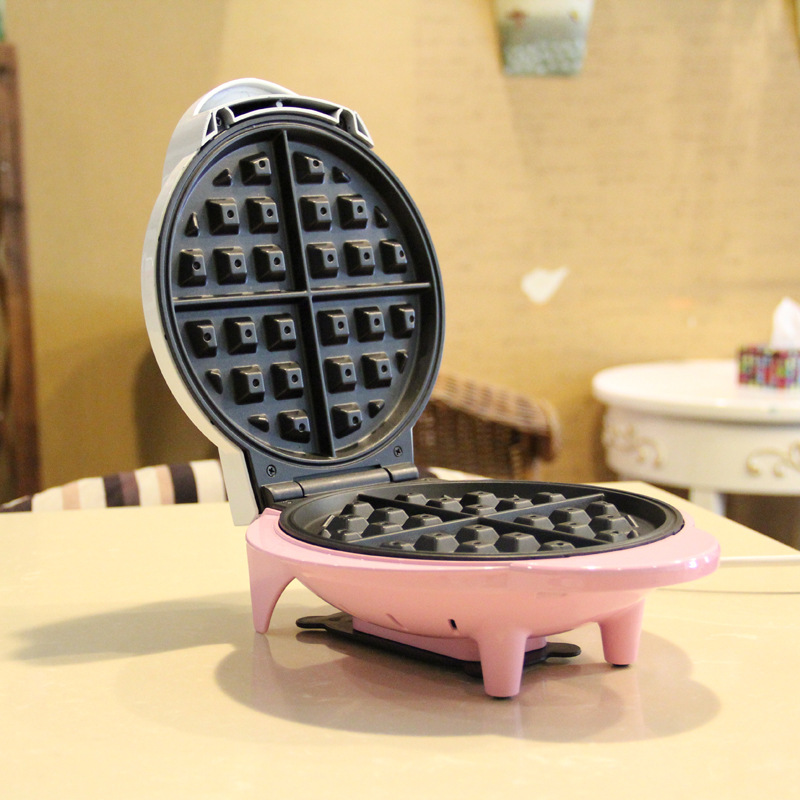 tk-801 Non Stick Waffle Maker Double Side Heating Electric Rotary Egg Waffle Maker Pancake Maker Waffle Machine directly factory price commercial electric double head egg waffle maker for round waffle and rectangle waffle