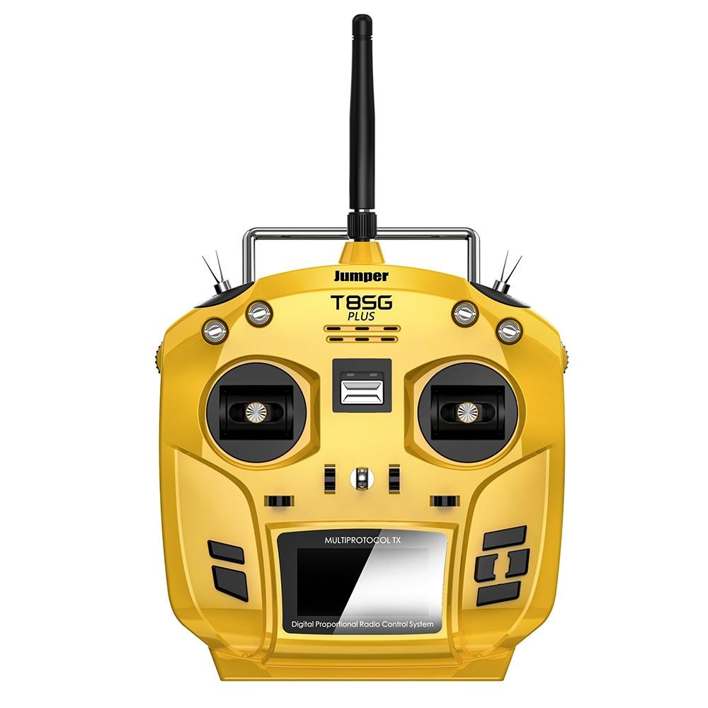 Jumper T8SG V2 + Antichambre Cardan 12CH Multi-Protocole Déviation CC2500 NRF24L01 A7105 CYRF6936 OLED Transmetteur pour FLYSKY FRSKY