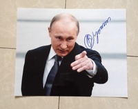 signed PUTIN autographed original photo 8*10 collection free shipping 102018E