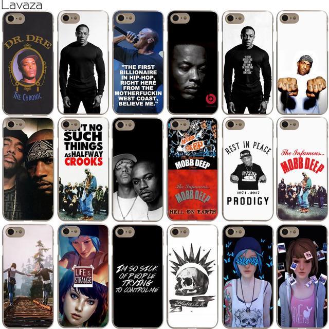 733eb86a26a Lavaza Dr. Dre Mobb Deep Life Is Strange Case for iPhone XS Max XR X 8 7 6  6S Plus 5 5S SE