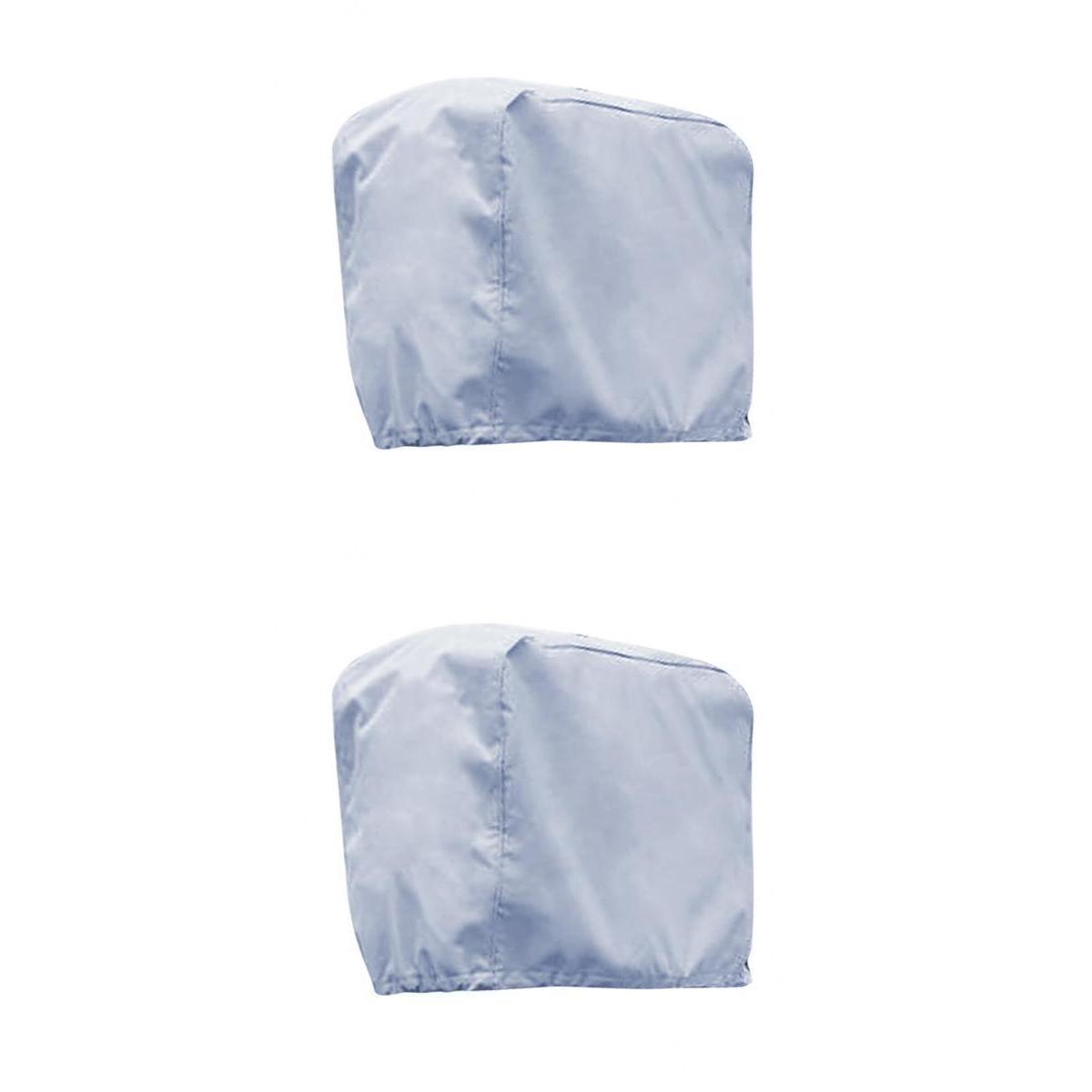 Cubierta De Motor De Barco De Motor De 2 Tamaños Impermeable Y Ventilado Para 2-15 Hp, 70-150hp-agua, Moho, Resistente A Los Rayos Uv