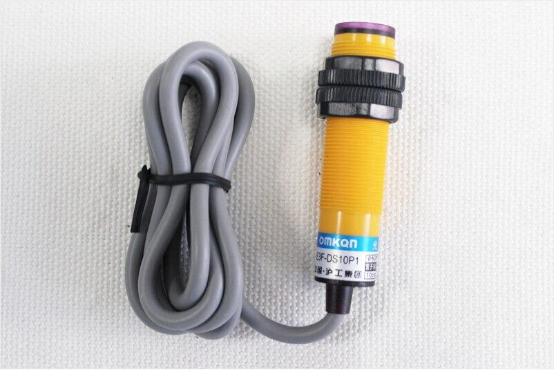 Diffuse reflection Type photoelectric switch sensor E3F DS10B2 NPN NC diameter 18mm distance 10cm Transducer