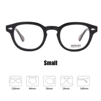 6de3cbee76 Optical Glasses Frame Men Women Johnny Depp Glasses Computer Transparent  Eyeglass Brand design Acetate Vintage Style Q101