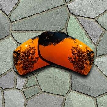 506112be37 Rojo naranja gafas de sol polarizadas lentes Oakley Gascan - a ...