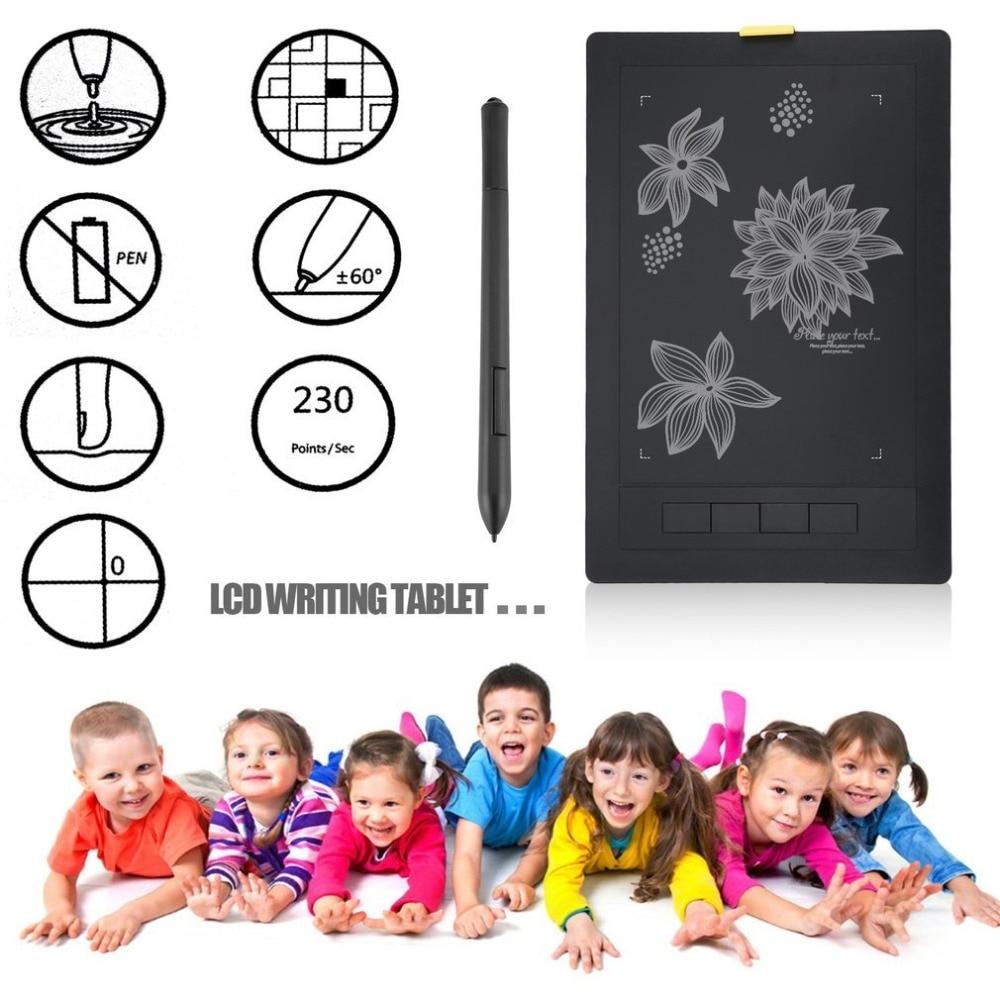 Nouvelle tablette graphique 2048 niveaux tablettes numériques dessin tablette LCD sans fil tableau d'écriture électronique - 4