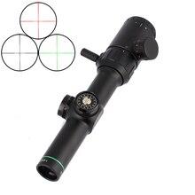 Тактический охотничий оптический прицел 1-4X20 прицел прицельная сетка для прицела с креплениями