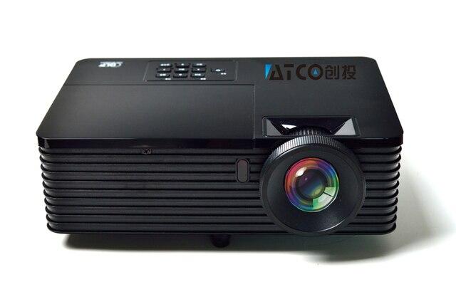 Лучший короткофокусный объектив Дневной Свет USB HDMI Домашнего Кинотеатра XGA 1080 P full HD 3D DLP Проектор proyector проектор для церкви hall hotel