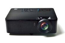 Mejor lente de tiro Corto Luz USB HDMI Home Theater XGA 1080 p full HD DLP 3D Proyector Proyector beamer para iglesia hall hotel
