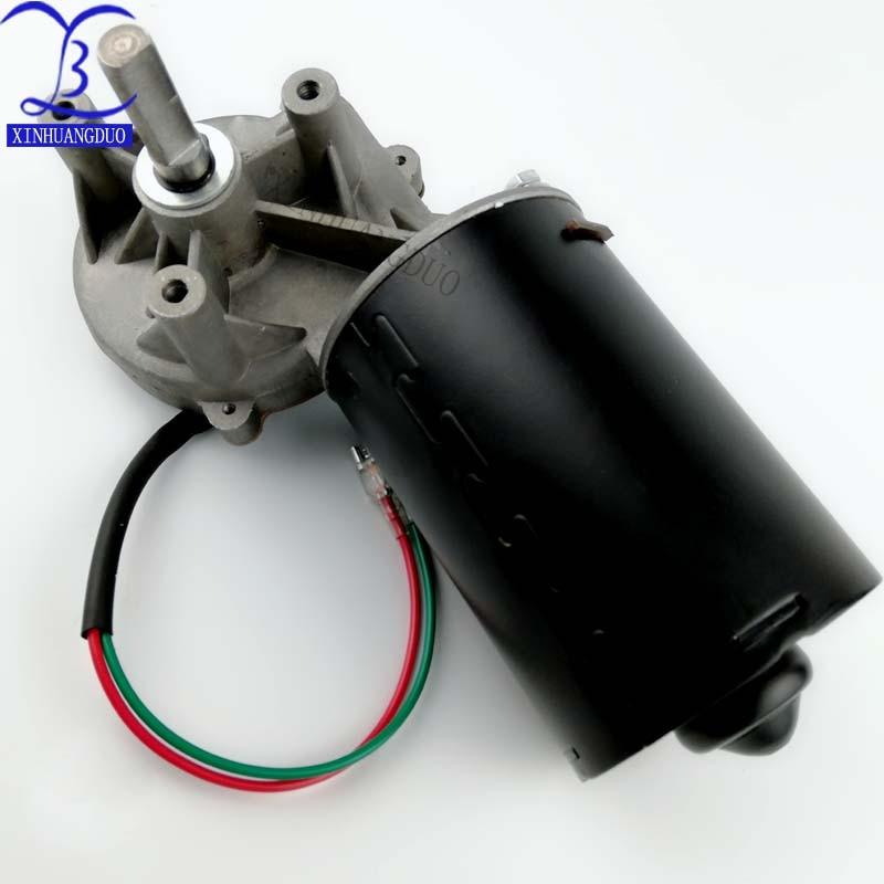 1PCS DC24V 250RPM 25KG.cm 60W Worm Gear Reducer Motor Automotic Door Motor 1:15