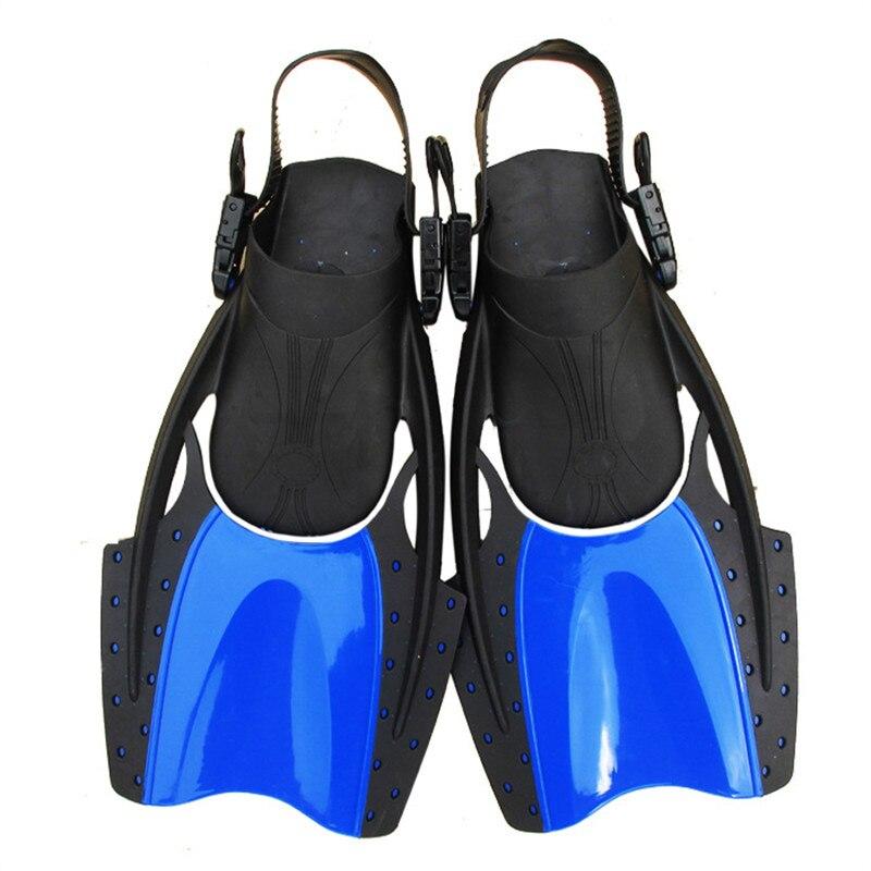 Offre spéciale natation jeu d'entraînement palmes courtes palmes de plongée palmes de plongée équipement de plongée en apnée F02