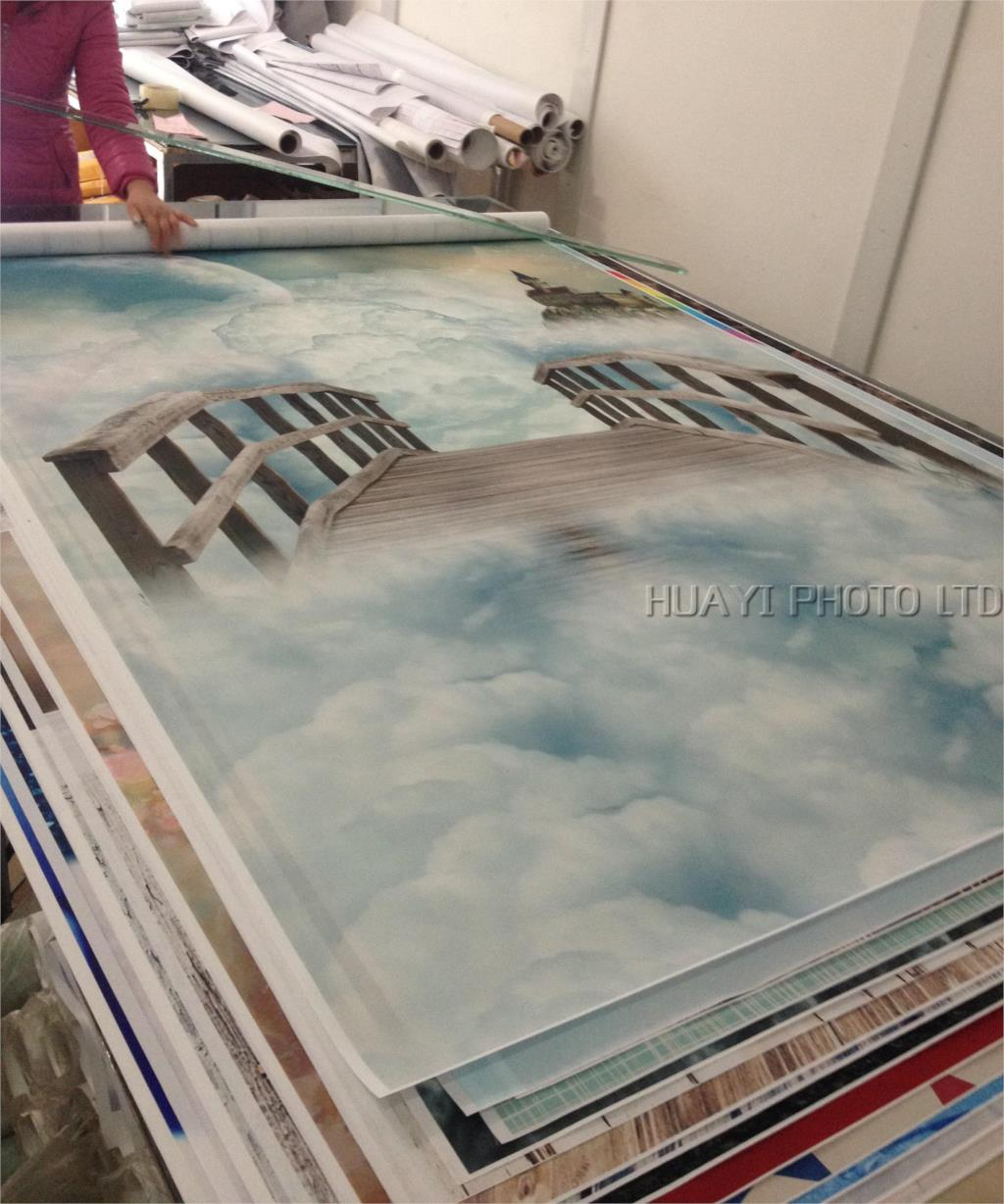 Fairy tale photography backdrop background printed with clouds and castle for photo studio newborn baby D-784 send rolled enchanted forest backdrop secret garden lantern fairy tale printed fabric photography background s0038