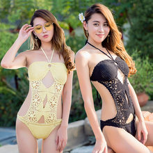 New Hot Spring Sexy Knitted Bikini Agent Provocateur Swimming Suit(China) 307fbae7d