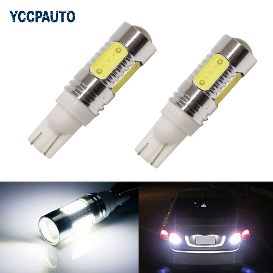T10 Led lights Auto car Lamps W5W 7.5w xenon wedge bulb 194 168 192 lamp Interior Packing Car Styling 2pcs new lights for T 10 4x wholesale adual use auto light car lamp t10 7 5w car led bulb led wedge bulb 194 168 192 w5w lamp h1 h3 h4 h7 h8 h9 h11