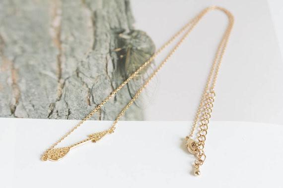 2014-Fashion-18k-gold-anniversary-inca-arrow-pendant-necklace-Free-Shipping (1)