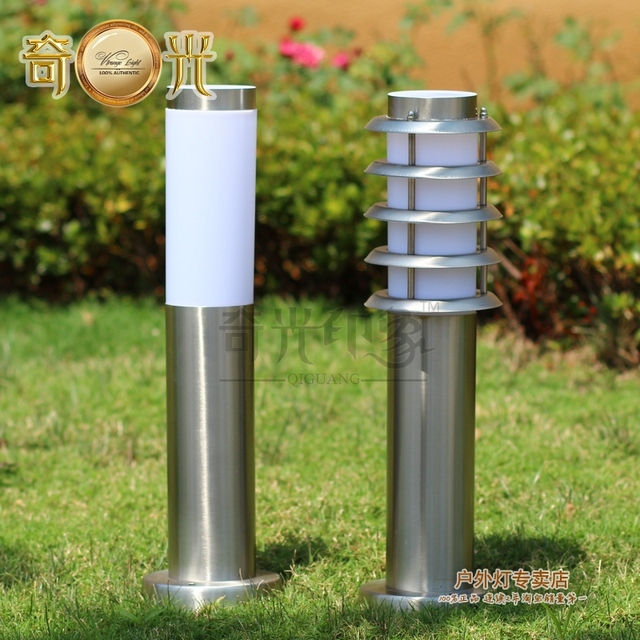 Perfect European Shipping Outdoor Waterproof Outdoor Lawn Modern Minimalist  Stainless Steel Outdoor Lights Garden Lights Garden Lights