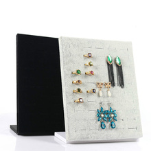 High Quality Velvet Ring Jewelry Rack Earring Storage Organizer Beauty Accessories Home Supples