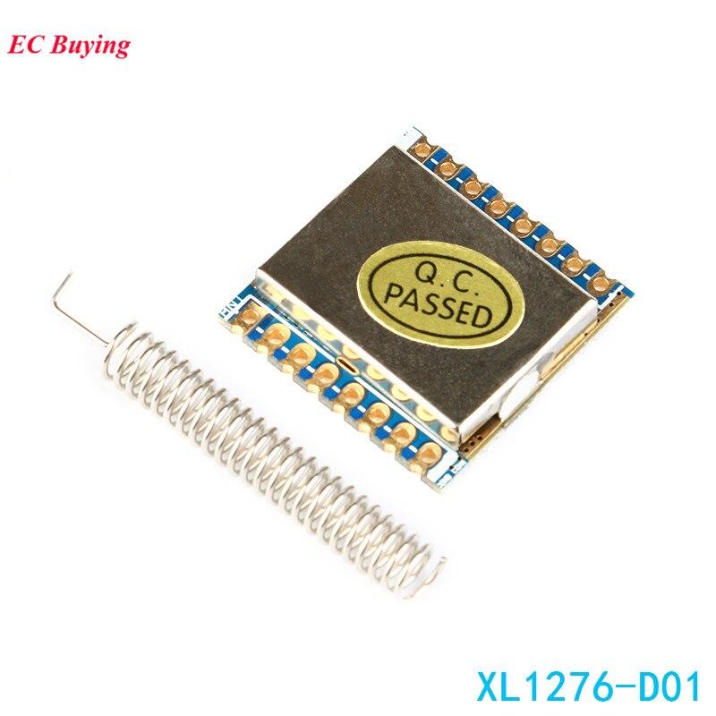 Snelle Levering 1 Pcs Lora/fsk/gfks Diy 433 Mhz Spread Spectrum Hoge Gevoeligheid Xl1276-d01 Draadloze Transceiver Module Sx1278 Lange Bereik Matige Prijs