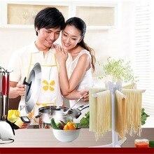 Racks & Holders Pasta Collapsible Fettuccine Noodles Drying Rack Hand Noodle Maker Hanging Stand Holder For Kitchen Tool
