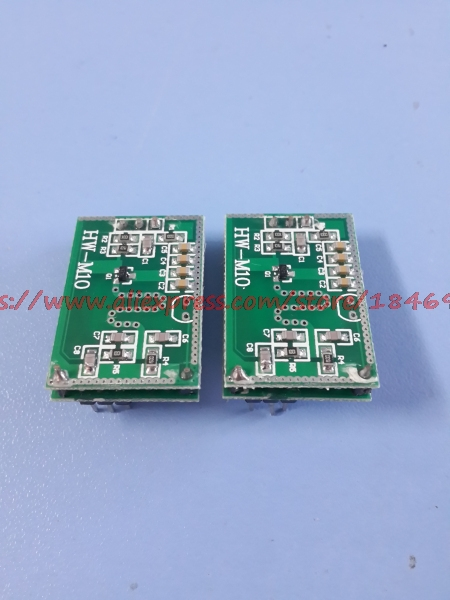 Free Shipping  HW-M10 Output 3.3V Directly Connected Single Chip Microcomputer  Mobile Sensor Switch Microwave Induction Module