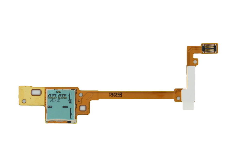For Samsung Galaxy Tab Pro 10.1 SM-T520 Micro SD Memory Card Holder Reader Contact Slot Flex Cable