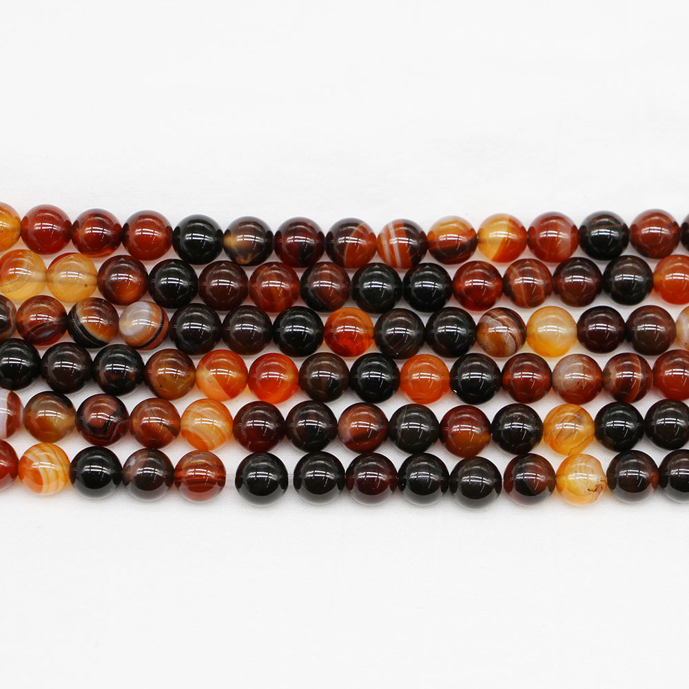 1strand/lot Natural Stone Dream Agates <font><b>Bead</b></font> Round Gem Loose Spacer <font><b>Beads</b></font> For Jewelry Making Findings DIY Bracelet <font><b>Bulk</b></font> Wholesale image