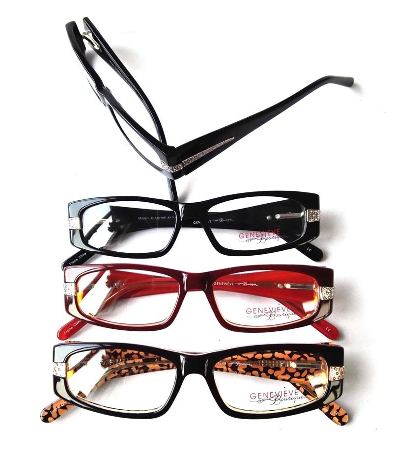 New fashion oculos de grau cat eye Women Acetate myopia glasses frame lady  reading optical eyeglasses frames free shipping-in Eyewear Frames from  Women s ... f972d6c169