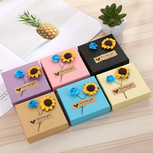 Wholesale Jewelry Box Necklace Pendant Packing Box Earring Jewelry Box Jewelry Paper Gift Box for Wedding Party Gift Packing