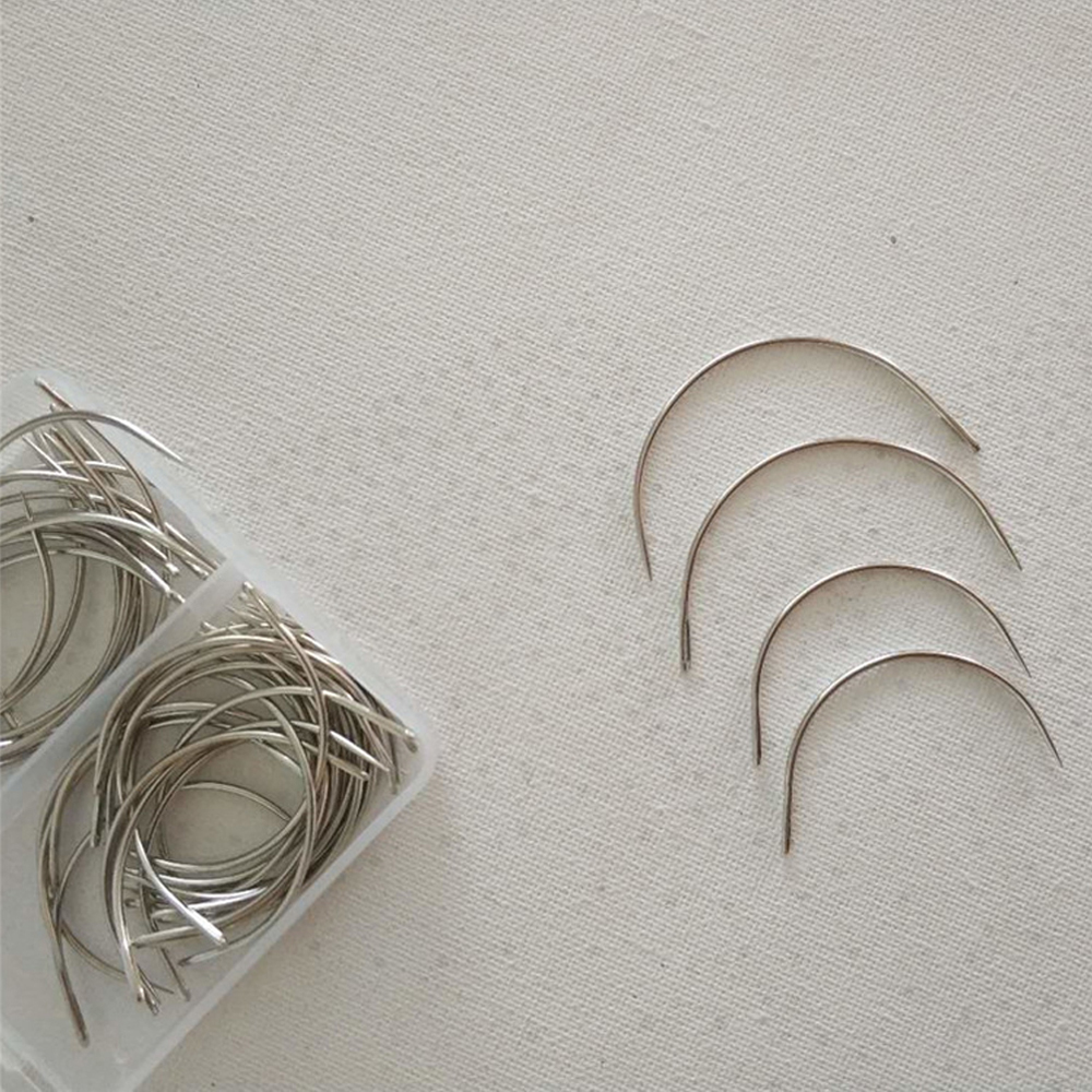 Curved Needles Metal Quality 2 Sizes 2.5inch/3inch Box Package C Type Pins