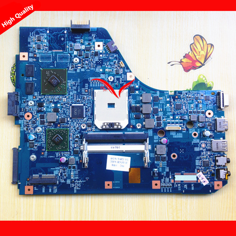 MBRNX01001 MB.RNX01.001 JE50 SB 48.4M702.011 Laptop Motherboard For ACER 5560 5560G Non-integrated ,fully tested