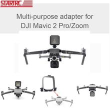 STARTRC DJI Mavic 2 pro Kamera Montieren 360 grad Panorama Kameras Stecker Mount Für GoPro Hero 5/6/7/8 Schwarz Für OSMO Action