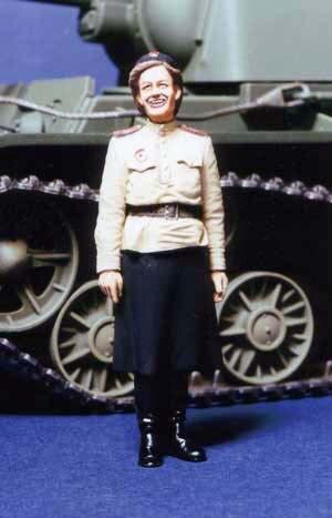1:35 WWII Soviet Female Soldiers