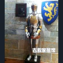 Retro Samurai armor model bar restaurant decoration decoration 16 ancient Rome knights in medieval Europe