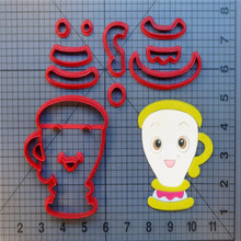 Beauty and the Beast Cookie Cutter Set Custom Made 3D Printed Fondant Cupcake Cake Decorating Tools Kitchen Accessories
