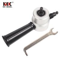 MX DEMEL Nibbler Sheet Metal Cut Nibble Metal Cutting Double Head Sheet Nibbler Saw Cutter Tool