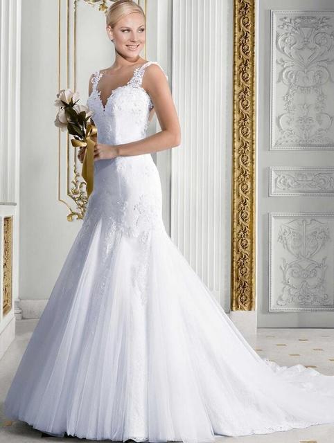 Sexy corset wedding dress