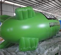 HOT helium air blimp advertising balloon colourful blimp pvc or tpu material inflatable blimp