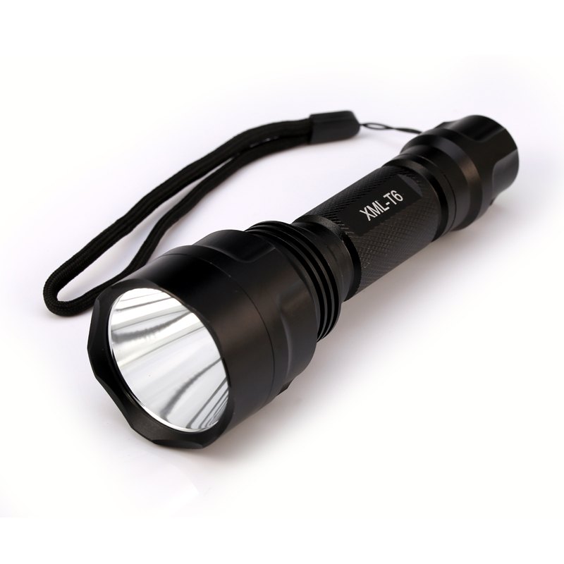 C8 LED Flashlight XML T6 Linterna Torch 1000 lumens 18650 Battery Camp Bicycle Tactical LED Torch
