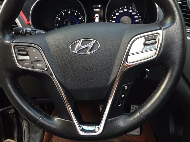 Auto steering wheel cover,interior decoration trim  for  IX45 2015, ABS chrome,auto accessories