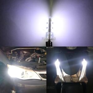 Image 5 - 5x Mới Nhất T10 194 168 W5W 6Smd 5730 Xe Ô Tô Đèn LED Ốp Silicone Tự Động Mái Vòm Đậu Xe Đèn Xe Ô Tô Mặt Nêm Ánh Sáng bóng Đèn Ô Tô Tạo Kiểu