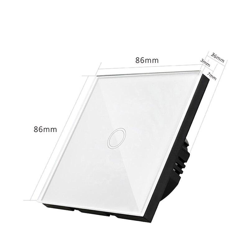 Interruptores e Relés de luz da parede da Function : Wall Light Switch Touch Screen Control
