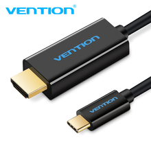 Vention USB C to Hdmi Cable Support 4K*2K For Macbook Google Pixel Samsung S8 Type-c to HDMI 1.8M USB 3.1 Type c to Hdmi Adapter аксессуар telecom usb type c m to hdmi f 4k tuc020