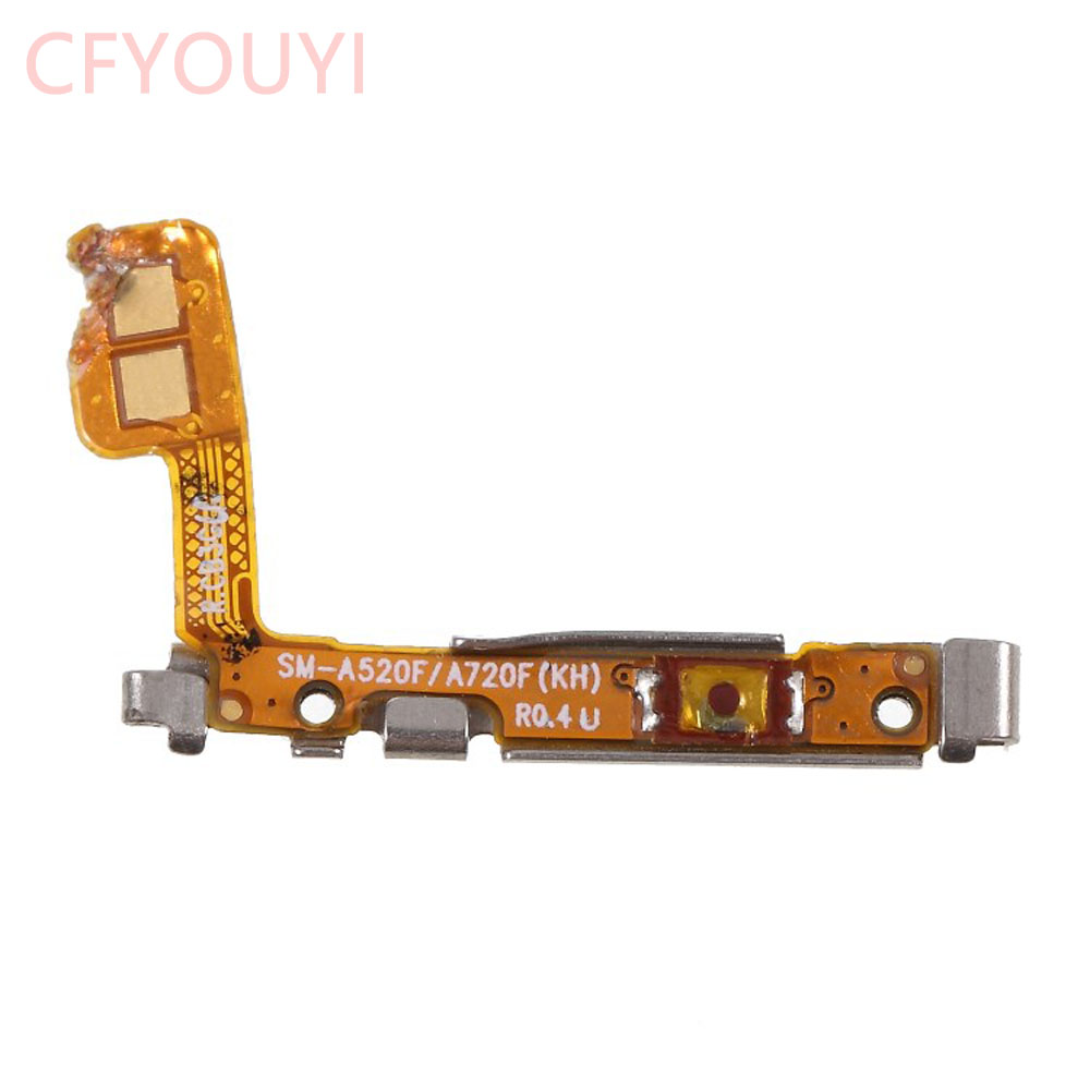 For Samsung Galaxy A5 (2017) A520 / A7 (2017) A720 Power Switch Button Flex  Volume Button Flex Cable Replacement