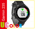 Genuine New Garmin Forerunner 235 GPS Running Watch Wrist HRM Gray / Black ( Free 1 x Spare Band )